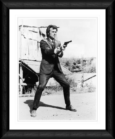 clint eastwood dirty harry 1971 framed print