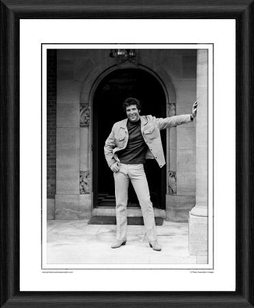 tom jones framed photographic print