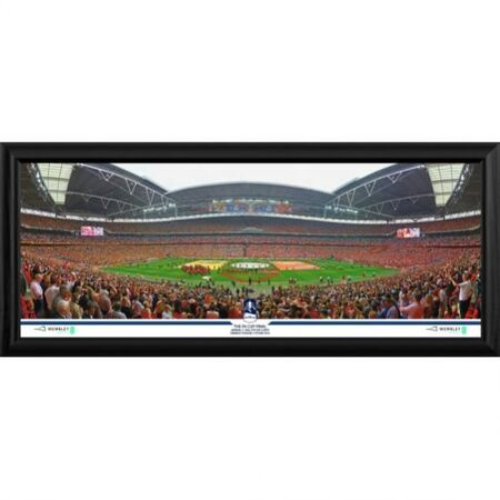 2014 fa cup final framed panoramic print