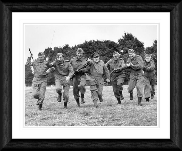 Dad's Army Cast Framed Print