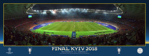 2018 UEFA Champions League Final Line up Panoramic