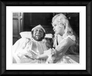 Barbara Windsor and Sid James Carry On Henry Framed Print