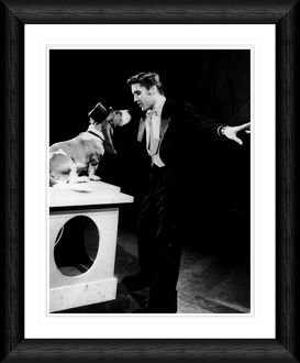 Elvis Presley Hound Dog Framed Print