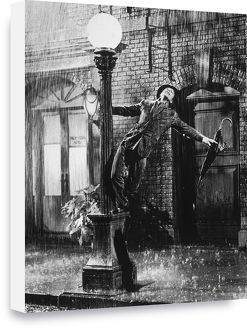 Gene Kelly Singing in the Rain Box Canvas