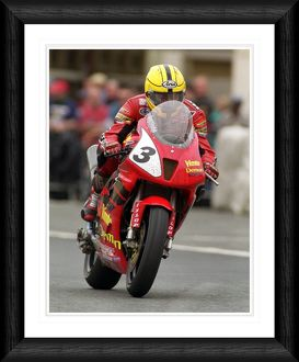 Joey Dunlop TT Race 2000 Framed Print