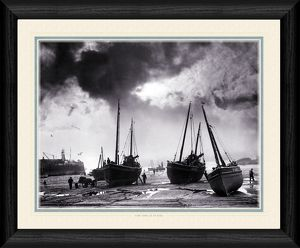 Low Tide at St. Ives - Boats Framed Photographic Print