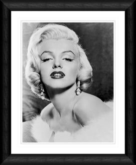 Marilyn Monroe Framed Portrait Print