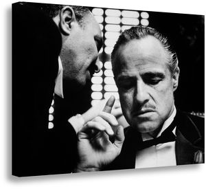 Marlon Brando The Godfather Box Canvas