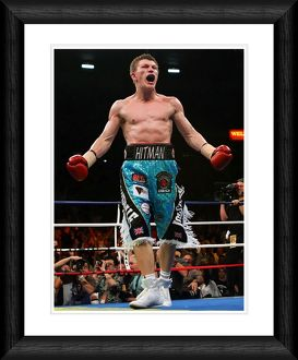 Ricky Hatton Framed Print