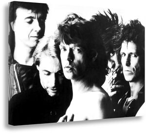 The Rolling Stones 1990 Box Canvas Print