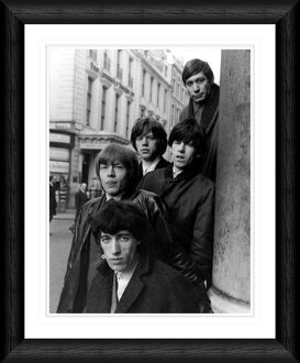 the rolling stones london 1964 framed portrait