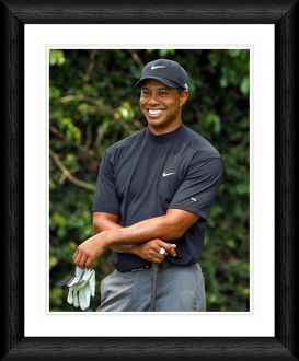 Tiger Woods Posed Shot Framed Print