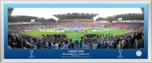 UEFA 2014 Super Cup Line Up 30' Panoramic