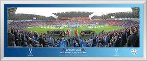 UEFA 2014 Super Cup Walking Out 30' Panoramic