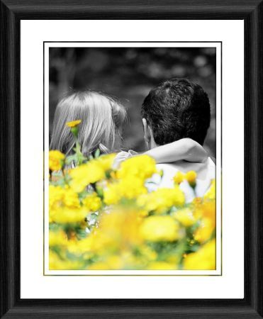 love blossoms framed photographic print