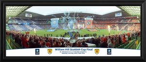 2014 Scottish FA Cup Final Framed Panoramic