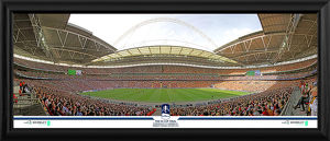 2015 FA Cup Final Match Framed Panoramic