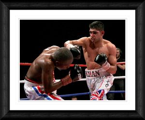 boxing/amir khan v gairy st clair commonwealth lightweight