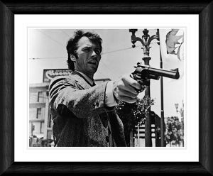 Clint Eastwood 'Dirty Harry' 1971 Framed Print