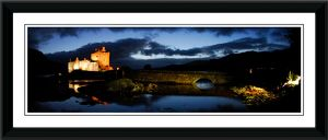 Eilean Donan Castle Framed Panoramic Photographic Print
