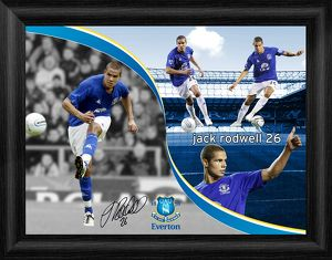 Everton FC - Jack Rodwell Framed Montage