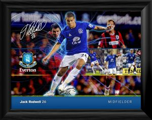 Everton FC - Jack Rodwell Player Profile Framed Print