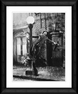 Gene Kelly Singing in the Rain Framed Print