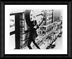tv film/harold lloyd safety framed print