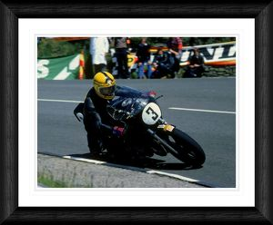 Joey Dunlop TT Race 1981 Framed Print