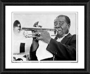 Louis Armstrong Framed Photographic Print
