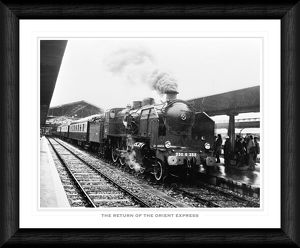Return of the Orient Express Framed Print