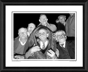 tv film/taffy thomas gurning world champion framed photographic