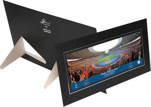 UEFA Champions League 2015 Final Behind Goal Panoramic in Strut
