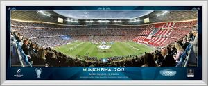 football/uefa champions league finals/uefa champions league final 2012 munich line framed