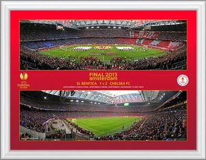2013 Europa League Final Panoramic Montage