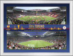 UEFA Europa League Final 2014 Panoramic Montage