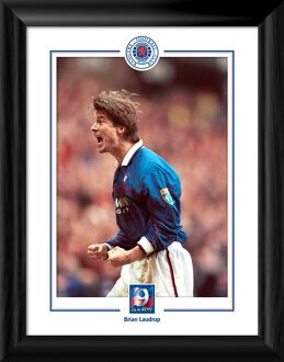 9 In A Row Brian Laudrup Celebration Print