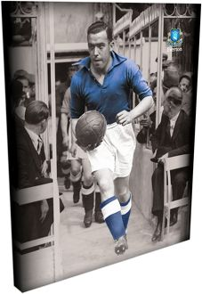 Dixie Dean Duo Tone Wrap Canvas